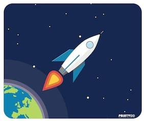 PrintVoo Space Rocket Design Mousepad