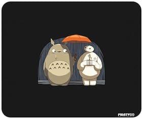 PrintVoo Totoro Baymax Cartoon Design Mousepad