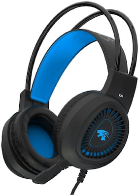 PROBUS K20 On ear Gaming Headsets With Mic - Blue