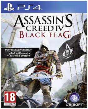 PS4 Assassins Creed Black Flag