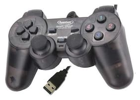 Quantum QHM7468-2V Gamepad (Black) from LOGISYZ TECH