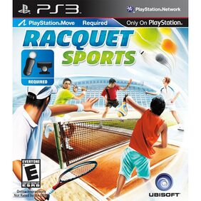Racquet Sports (Move Required) (For PlayStation 3)