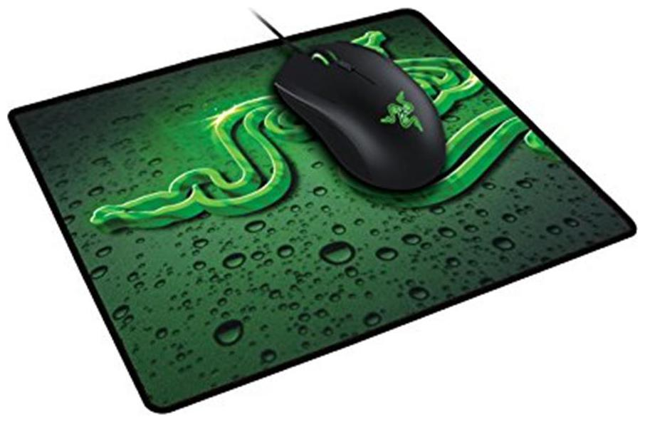 Razer Gaming Starter Bundle   Abyssus 2000 Gaming Mouse and Goliathus Speed Terra Mouse Mat