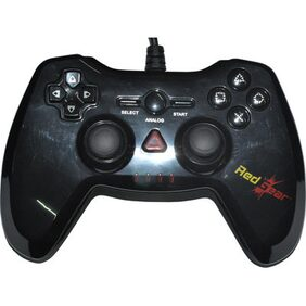 Red Gear Highline PC Wired Controller USB Gamepad (Black)