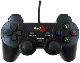 Red Gear Gamepad For Windows ( Black )
