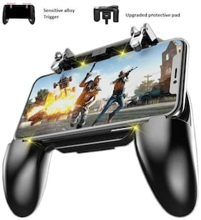 """Rednix  Mobile Game Controller for PUBG Mobile Controller L1R1 Mobile Game Trigger Joystick Game-pad for 4-6.5"""" iOS & Android Phone"""