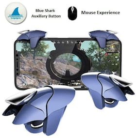 Rednix  PUBG Mobile Trigger for Mobile FPS Game L1R1 Sensitive Game Controller for Fortnite, Compatible with iOS Android, Enlarge Range Fit All Phone Size with Thin Phone Case