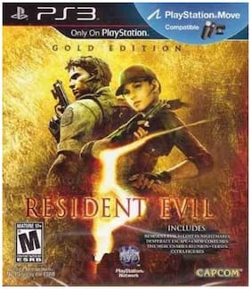 Resident Evil 5 (Gold Edition) (For PlayStation 3)