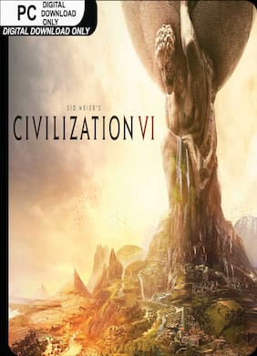 Sid Meier's Civilization VI (Digital Code) [Windows 10 | Windows 8 | Windows 7]