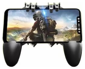 Smart Wireless Gamepad For iOS & Android ( Black )