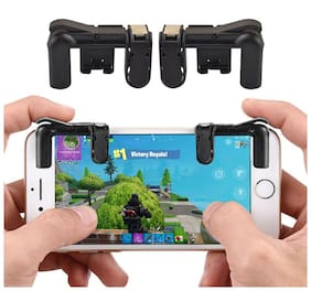 Smart choice ( Set of 2 )Mobile Game Controller - Sensitive Shoot and Aim Triggers for PUBG/Knives Out/Rules of Survival - L1R1 Mobile Game Trigger Joystick Gamepad for Android/iPhone( Pub G lover )
