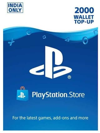 Sony 2000 PlayStation Network Wallet Top-Up