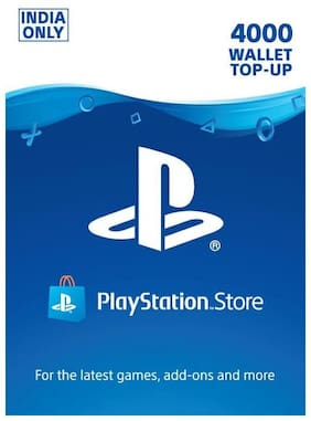 Sony 4000 PlayStation Network Wallet Top-Up