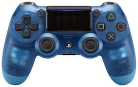 Sony Dualshock V2  Gamepad Controller for PS4 (Blue Crystal)
