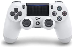 Sony Wireless Gamepad For PS4 ( White )