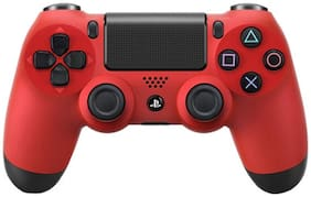 Sony Dualshock 4 Wireless Gamepads For PS 4 (Magma Red)
