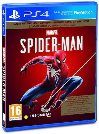 Sony Marvel's Spider-Man (PS4) [Game of the Year Edition]