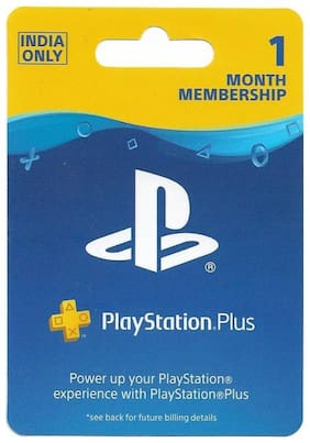 Sony PlayStation Plus: 1 Month Membership (Indian PSN account)