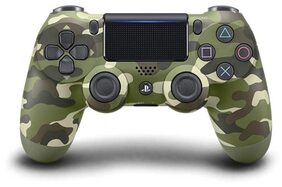 Sony PS4 Dualshock Controller - V2 (Green Cammo) Gamepad  (Green, For PS4)
