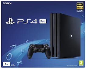 Sony PS4 Pro 1TB Console (Black) ( Free Game: The Last of Us PS4 )