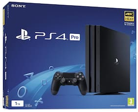 Sony PS4 Pro 1TB Console (Black) ( Free Game: Uncharted 4 PS4 )