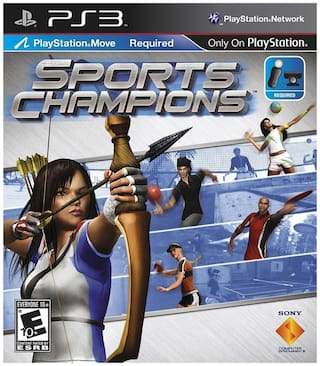 Sports Champions (Move Required) (For PlayStation 3)