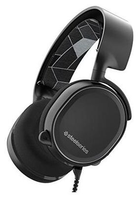 SteelSeries Arctis 3 Gaming Headset with 7.1 Surround for PC, PlayStation 4, Xbox One, Nintendo Switch, VR, Android and iOS - Black