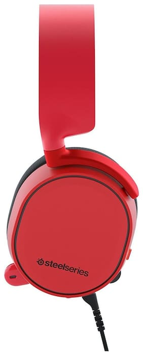 SteelSeries 61435 Arctis 3 Gaming Headset Solar Red