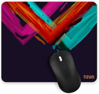 Tizum Mouse Pad for Laptop, Notebook, MacBook Pro Air, Gaming Computer| 9.4 X 7.9 Inches| Anti-Skid Base Mousepad