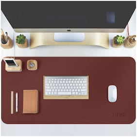 Tizum Z14 Office Desk Pad Blotter Gaming Mouse Pad (Brown)