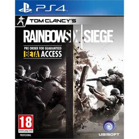 Tom Clancy's Rainbow Six Siege (Standard Edition) (For PlayStation 4)