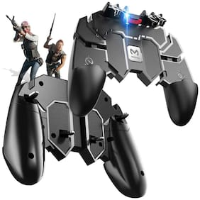 TSV AK-66 Six Finger All-in-One PUBG Remote Controller Gampad for All Android & iOS Mobile Phones