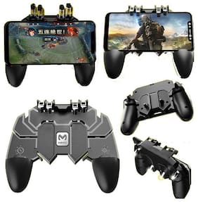 TSV AK66 PUBG CONTROLLER Gaming Accessory Kit  (Black, For Android, iOS)
