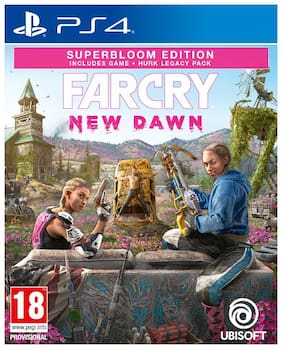 Ubisoft Far Cry: New Dawn Superbloom Edition Physical Games For PS4
