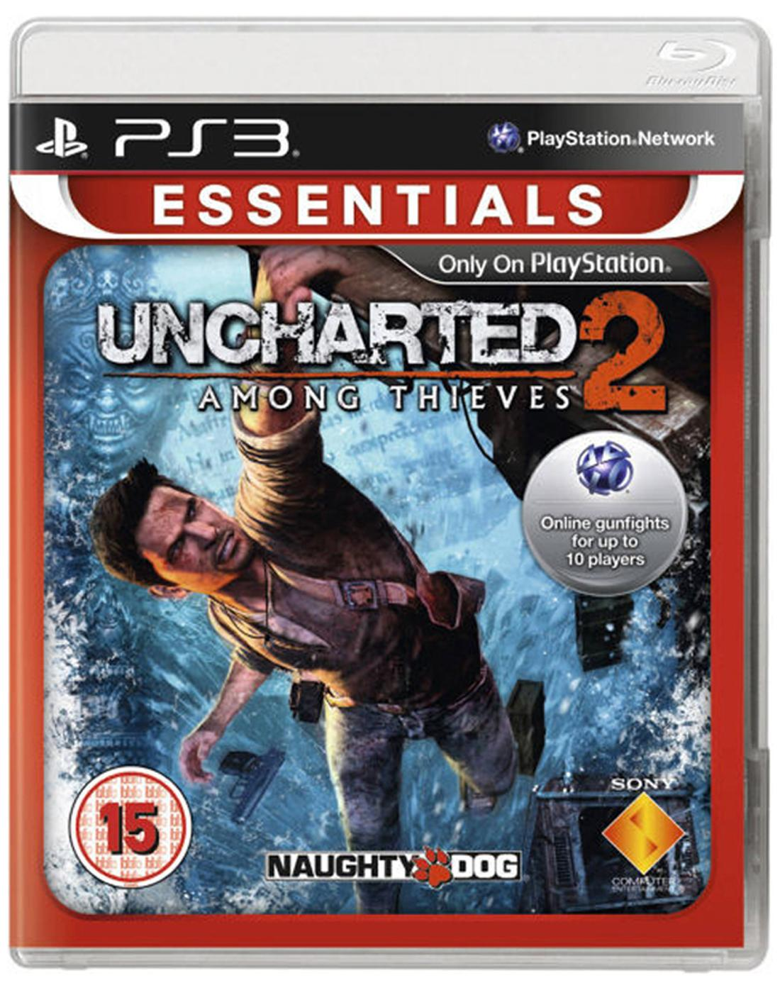 Uncharted 2- Among Thieves (For PlayStation 3)