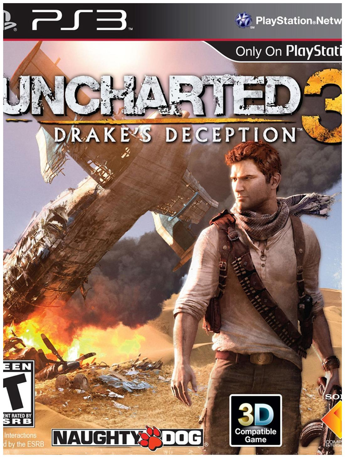 Uncharted 3 Drakes Deception (For PlayStation 3)