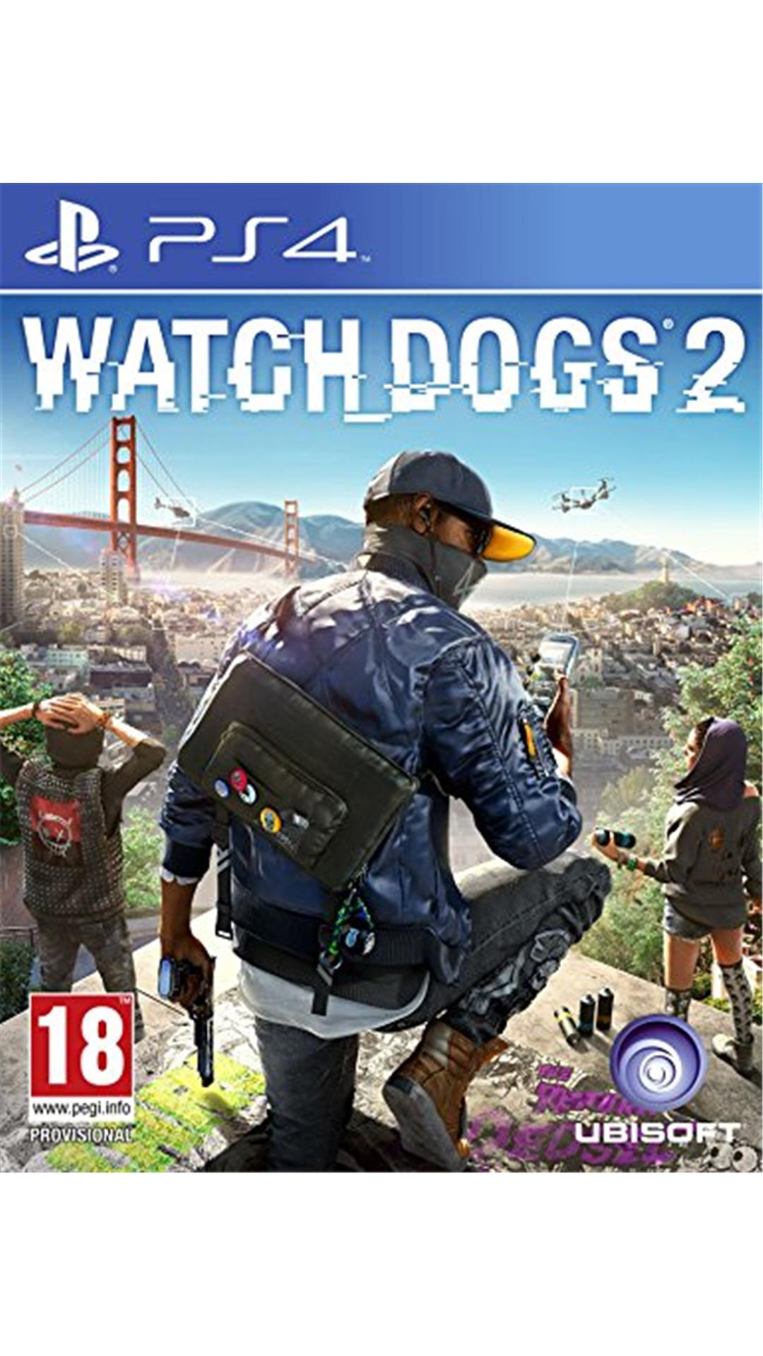 Watch Dogs - 2 (PS4)