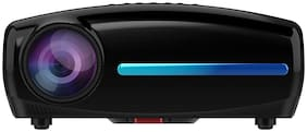 WZATCO S4 (Android 9.0 ) Native 1080P Full HD LED Projector, 5500 Lumens 4D Correction Home Cinema (Black )