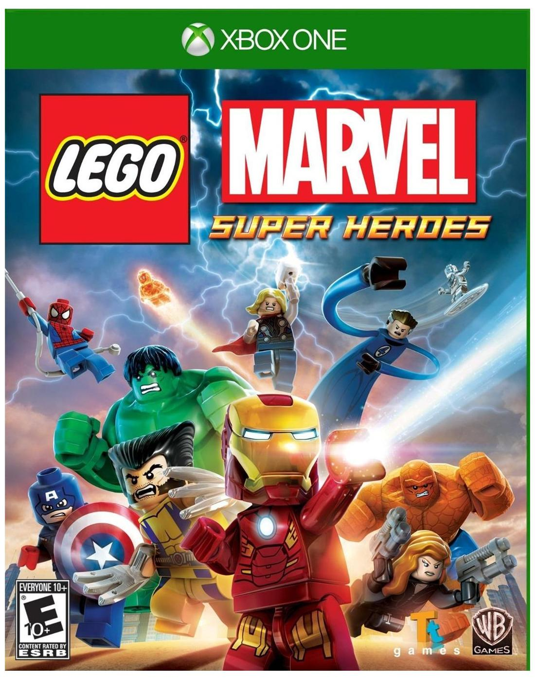 X-Box One Lego - Marvel Super Heroes