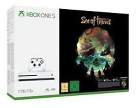 Xbox One S 1TB Console Sea of Thieves Bundle With Steep & The Crew (DLC )