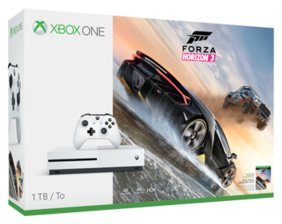 Microsoft Xbox One S 1 TB with Forza Horizon 3 (White)