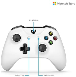 Microsoft Wireless Motion Controller For Xbox One ( White )