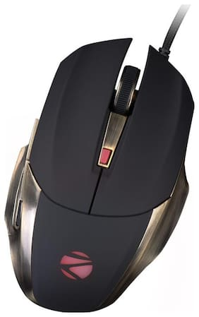 Zebronics Alien pro with 5 Million Strokes Gaming Mouse