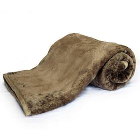 Little India Embossed Design Double Bed Super Soft Mink Blanket