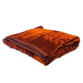 Little India Super Soft Korean Single Bed Embossed Blanket Pair