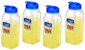 Lock & Lock 900 ml Plastic Assorted Fridge Bottles - Set of 4