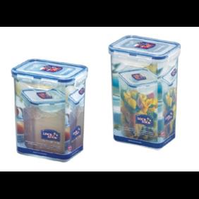 Lock&Lock Tall Food Storage Container 2 Pcs 1.2L + 1.3L