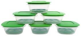 Cutting Edge Veggie Fresh Refrigerator Storage 1500Ml Container Set Of 6
