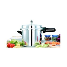 Mahavir Induction Base Pressure Cooker (5 Ltr)