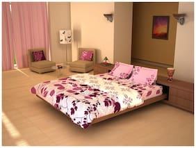 House This 150Gsm Purple Double Comforter